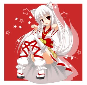 Rating: Safe Score: 28 Tags: animal_ears mabinogi miko mizune_inori tail thighhighs User: 椎名深夏