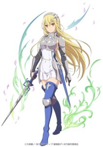 Rating: Safe Score: 48 Tags: aiz_wallenstein armor dungeon_ni_deai_wo_motomeru_no_wa_machigatteiru_darou_ka heels sword thighhighs User: saemonnokami