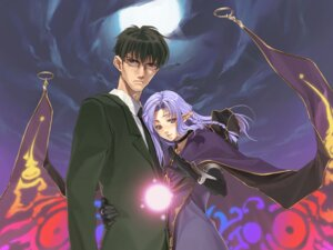 Rating: Safe Score: 10 Tags: caster fate/stay_night hidari kuzuki_souichirou pointy_ears type-moon User: Radioactive