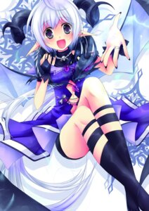 Rating: Safe Score: 15 Tags: dress horns kuro_tsumugi_kanae User: charunetra
