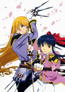 Rating: Safe Score: 3 Tags: lachette_altair sakura_taisen shinguuji_sakura tagme User: Radioactive
