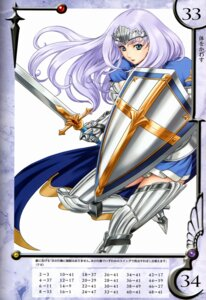 Rating: Safe Score: 13 Tags: annelotte armor eiwa queen's_blade queen's_blade_rebellion thighhighs User: YamatoBomber