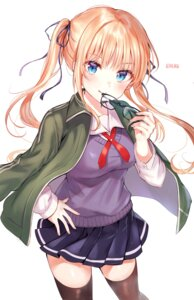 Rating: Safe Score: 44 Tags: gym_uniform megane saenai_heroine_no_sodatekata sawamura_spencer_eriri seifuku sweater thighhighs tokkyu User: Mr_GT