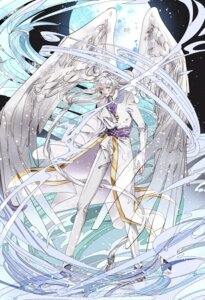 Rating: Safe Score: 8 Tags: card_captor_sakura male tagme wings yue User: charunetra