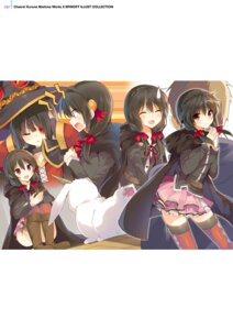Rating: Safe Score: 28 Tags: digital_version eyepatch kono_subarashii_sekai_ni_shukufuku_wo! megumin mishima_kurone thighhighs witch yunyun_(kono_subarashii_sekai_ni_shukufuku_wo!) User: Twinsenzw