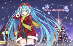 Rating: Safe Score: 31 Tags: beek christmas hatsune_miku seifuku thighhighs vocaloid User: Zatsune_Miku