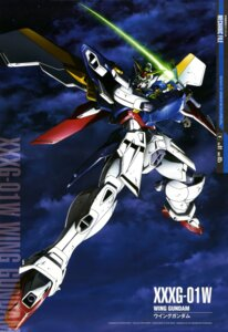 Rating: Safe Score: 14 Tags: gundam gundam_wing mecha sword ueda_youichi wing_gundam wings User: drop