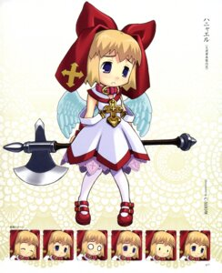 Rating: Safe Score: 3 Tags: angel c-show expression weapon wings User: petopeto