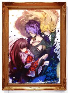 Rating: Safe Score: 17 Tags: blood eve_(ib) garry_(ib) hong_(white_spider) ib mary_(ib) User: fairyren