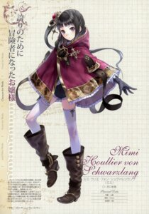 Rating: Safe Score: 41 Tags: atelier atelier_rorona atelier_totori kishida_mel mimi_houllier_von_schwarzlang profile_page thighhighs User: crim