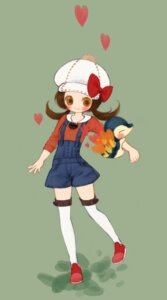 Rating: Safe Score: 12 Tags: cyndaquil kabasawa_kina kotone_(pokemon) pokemon thighhighs User: Radioactive