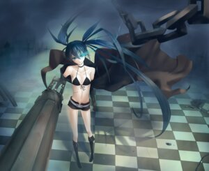 Rating: Safe Score: 14 Tags: bikini_top black_rock_shooter black_rock_shooter_(character) minevi vocaloid User: Nekotsúh