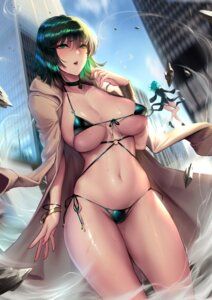 Rating: Questionable Score: 77 Tags: bikini cianyo dress fubuki_(one_punch_man) heels one_punch_man swimsuits tatsumaki_(one_punch_man) wet User: Mr_GT