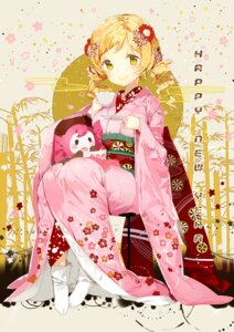 Rating: Safe Score: 53 Tags: anmi charlotte_(puella_magi_madoka_magica) kimono puella_magi_madoka_magica tomoe_mami User: Mr_GT