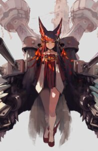 Rating: Safe Score: 25 Tags: animal_ears azur_lane japanese_clothes nagato_(azur_lane) natsumoka sketch User: BattlequeenYume