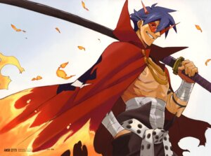 Rating: Safe Score: 17 Tags: kamina male nishigori_atsushi sword tengen_toppa_gurren_lagann User: Jamble
