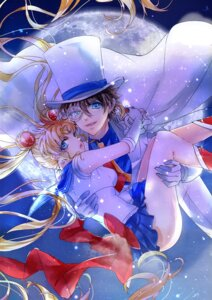 Rating: Safe Score: 10 Tags: crossover kaitou_kid magic_kaito megane sailor_moon tsukino_usagi tsuna2727 weapon User: charunetra