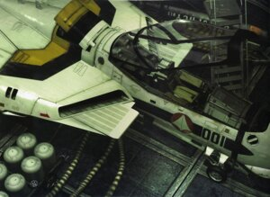 Rating: Safe Score: 6 Tags: binding_discoloration macross mecha tenjin_hidetaka User: oldwrench
