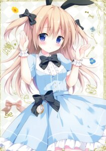 Rating: Questionable Score: 28 Tags: animal_ears bunny_ears dress izumi_nanase User: Radioactive