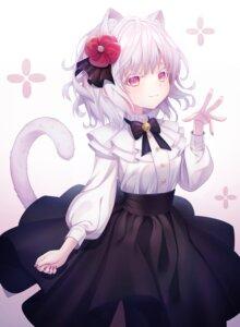 Rating: Safe Score: 49 Tags: animal_ears gothic_lolita kyubi lolita_fashion nekomimi tail User: Mr_GT