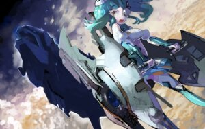 Rating: Safe Score: 15 Tags: 12u eyepatch mecha_musume wallpaper weapon User: Zenex