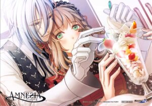 Rating: Safe Score: 14 Tags: amnesia hanamura_mai idea_factory ikki_(amnesia) shujinkou_(amnesia) waitress User: jjj14