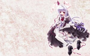 Rating: Questionable Score: 22 Tags: animal_ears bunny_ears capura.l dress heels maid reisen_udongein_inaba thighhighs touhou User: birdy73