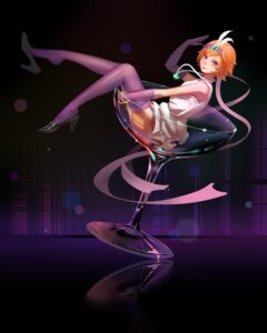 Rating: Safe Score: 45 Tags: dress heels jinx league_of_legends stockings thighhighs zhano_kun User: Mr_GT