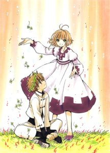 Rating: Safe Score: 7 Tags: clamp kinomoto_sakura li_syaoran tsubasa_reservoir_chronicle User: LulukoVladmont