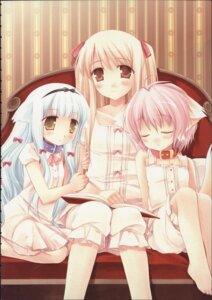Rating: Safe Score: 28 Tags: lily_(w&l) miyasu_risa pajama touko wanko wanko_to_lily User: admin2