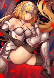Rating: Safe Score: 42 Tags: armor cleavage fate/apocrypha fate/grand_order fate/stay_night jeanne_d'arc jeanne_d'arc_(fate) pantsu thighhighs tsuki_suigetsu undressing User: Mr_GT