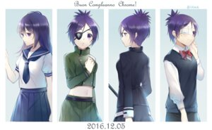 Rating: Safe Score: 10 Tags: character_design chrome_dokuro ekita_gen eyepatch katekyo_hitman_reborn! seifuku uniform User: charunetra