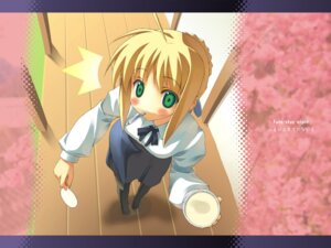 Rating: Safe Score: 17 Tags: fate/stay_night saber skire wallpaper User: cyanoacry