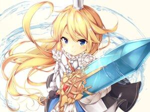 Rating: Safe Score: 12 Tags: armor charlotta_(granblue_fantasy) granblue_fantasy meimei_(suiginto6106) sword User: Mr_GT