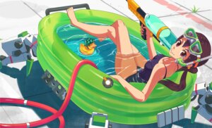 Rating: Questionable Score: 8 Tags: inaba_taiju school_swimsuit swimsuits User: blooregardo
