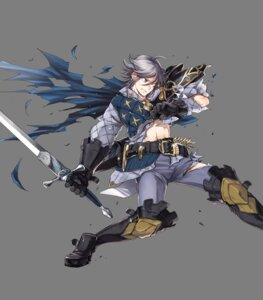 Rating: Questionable Score: 1 Tags: fire_emblem fire_emblem_heroes fire_emblem_if laslow nintendo suekane_kumiko sword torn_clothes transparent_png User: Radioactive