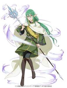 Rating: Safe Score: 14 Tags: dungeon_ni_deai_wo_motomeru_no_wa_machigatteiru_darou_ka heels pantyhose pointy_ears riveria_ljos_alf tagme weapon User: saemonnokami