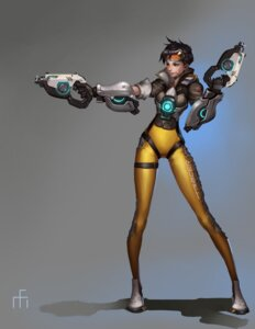 Rating: Safe Score: 19 Tags: bodysuit gun midfinger22 overwatch signed tracer User: Brufh