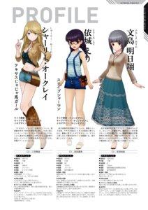 Rating: Questionable Score: 4 Tags: alice_gear_aegis fumishima_asuka shirley_oakley yorishiro_eri User: Halcon_Negro