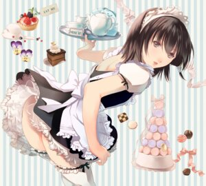 Rating: Questionable Score: 41 Tags: ass fuuchouin_kazuki get_backers maid papillon10 thighhighs trap User: Radioactive