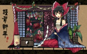 Rating: Safe Score: 14 Tags: hakurei_reimu kieta sarashi touhou User: Radioactive