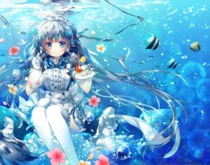 Rating: Safe Score: 46 Tags: dress maid miwabe_sakura thighhighs User: fairyren