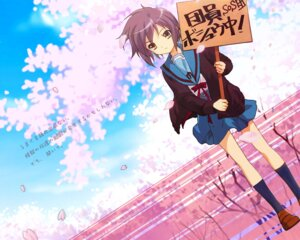 Rating: Safe Score: 25 Tags: nagato_yuki seifuku suzumiya_haruhi_no_yuuutsu wallpaper User: boon