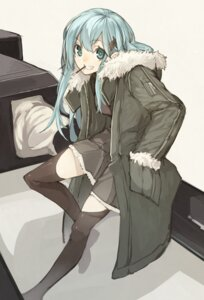 Rating: Safe Score: 40 Tags: kantai_collection senmu suzuya_(kancolle) thighhighs User: fairyren