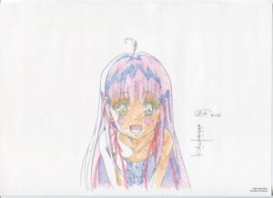 Rating: Safe Score: 11 Tags: dress glass_no_hana_to_kowasu_sekai raw_scan remo_(garakowa) sketch summer_dress User: hirotn