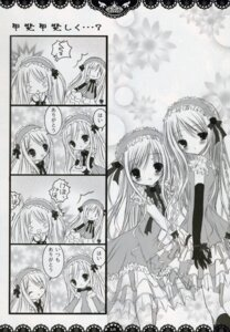 Rating: Safe Score: 7 Tags: 4koma lolita_fashion monochrome mubi_alice see_through User: admin2