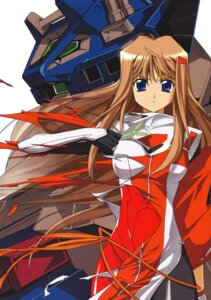 Rating: Safe Score: 14 Tags: bodysuit hiiragi_akao jinki_extend mecha User: dansetone