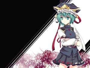 Rating: Safe Score: 19 Tags: shikieiki_yamaxanadu takase_kanan touhou wallpaper User: GeniusMerielle