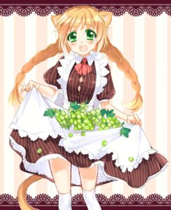 Rating: Safe Score: 7 Tags: animal_ears dress kayou nekomimi User: yumichi-sama