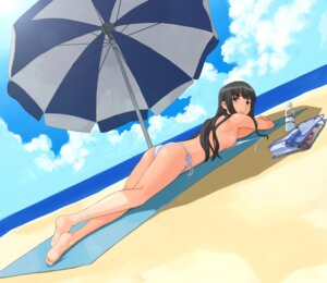 Rating: Questionable Score: 12 Tags: bikini futami_eriko imo_works kimikiss swimsuits User: Radioactive